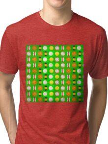 Lets play ball quilt  Tri-blend T-Shirt