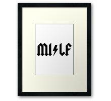MILF - ROCK AND ROLL -  Alternate Framed Print