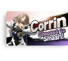 Corrin Chooses to Smash! Canvas Print
