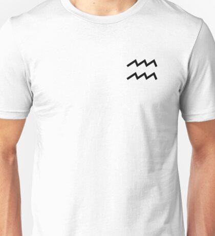 Aquarius (Small Design) Unisex T-Shirt