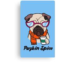 Pugkin Spice Canvas Print