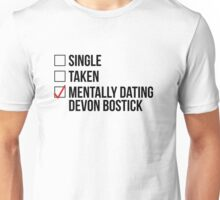 MENTALLY DATING DEVON BOSTICK Unisex T-Shirt