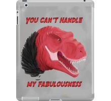 Fabulous Trex is fabulous iPad Case/Skin