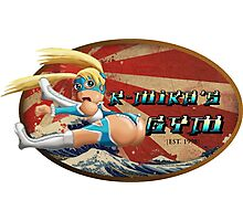 Street Fighter V  R-Mika's Gym Photographic Print