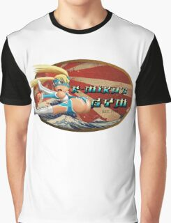 Street Fighter V  R-Mika's Gym Graphic T-Shirt