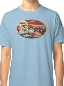 Street Fighter V  R-Mika's Gym Classic T-Shirt