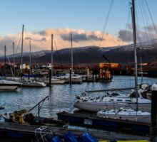Fenit Harbour and marina Tralee County Kerry Ireland Sticker