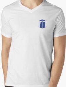 Tardis Mens V-Neck T-Shirt