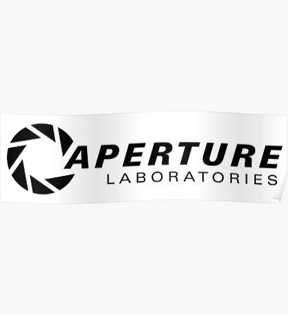 Portal Aperture Science Logo Poster