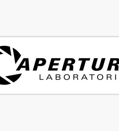 Portal Aperture Science Logo Sticker