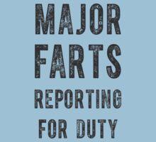 Major Farts Kids Tee
