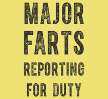 Major Farts One Piece - Short Sleeve
