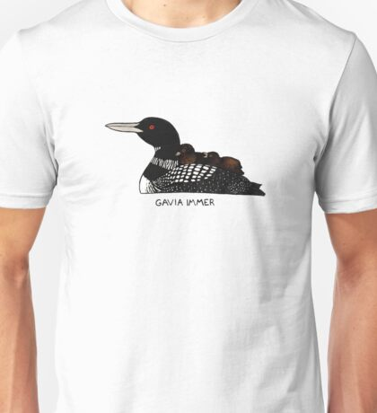 Common Loon (Gavia immer) Unisex T-Shirt