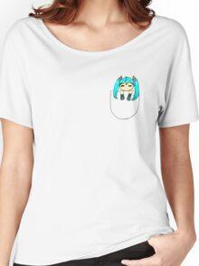 Chibi miku Women's Relaxed Fit T-Shirt