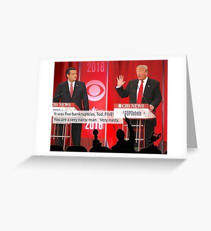 Republican Debate Mystery Science Theater 3000 Mashup Greeting Card