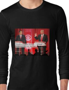 Republican Debate Mystery Science Theater 3000 Mashup Long Sleeve T-Shirt
