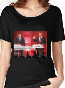Republican Debate Mystery Science Theater 3000 Mashup Women's Relaxed Fit T-Shirt