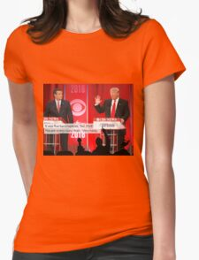 Republican Debate Mystery Science Theater 3000 Mashup Womens Fitted T-Shirt