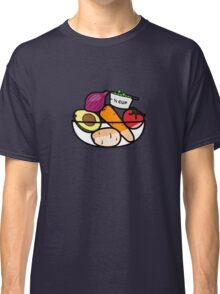 Fruit and Vegetable Bowl Classic T-Shirt