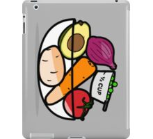 Fruit and Vegetable Bowl iPad Case/Skin