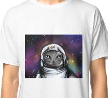 Space Cat- Digital Art Classic T-Shirt