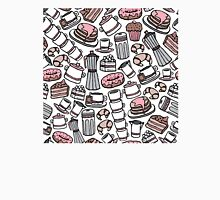 Seamless coffee pattern background Unisex T-Shirt