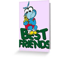 Muppet Babies - Gonzo & Camilla 01 - Best Friends Greeting Card