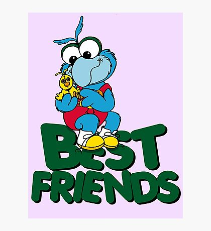 Muppet Babies - Gonzo & Camilla 01 - Best Friends Photographic Print