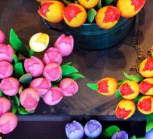 Artifical tulips Sticker