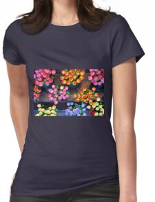 Artifical tulips Womens Fitted T-Shirt