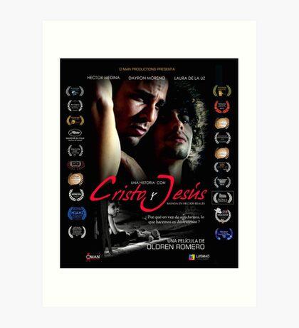 """""""Una Historia con Cristo y Jesus"""".  Poster español Art Print"""