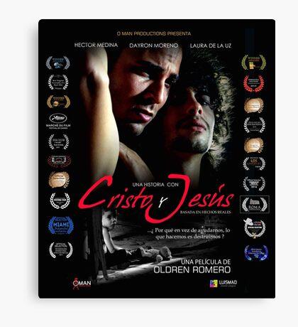 """""""Una Historia con Cristo y Jesus"""".  Poster español Canvas Print"""