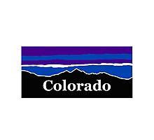 Colorado Midnight Mountains Photographic Print