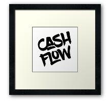 Cash Flow Framed Print