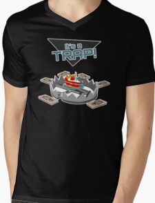It's a TRAP! Mens V-Neck T-Shirt