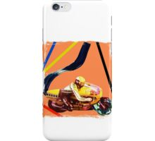 Acrylic motorcycle exhaust iPhone Case/Skin