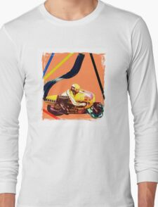 Acrylic motorcycle exhaust Long Sleeve T-Shirt