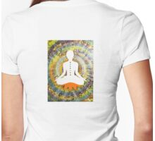 Oneness Meditation Womens Fitted T-Shirt