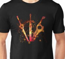 Three swords Unisex T-Shirt