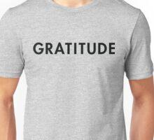 Attitude of gratitude Unisex T-Shirt
