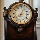 Old Clock On the Mantel by Heather Friedman