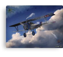 Billy Bishop - Canadian WWI Ace Pilot Canvas Print
