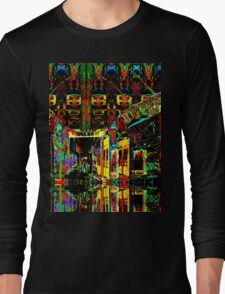 PSYCHEDELIC PARKING LEVEL Long Sleeve T-Shirt