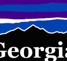 Georgia Midnight Mountains Sticker