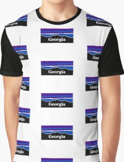 Georgia Midnight Mountains Graphic T-Shirt