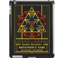 SACRED GEOMETRY METATRON MATRIX iPad Case/Skin