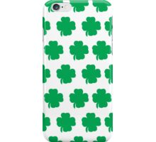 shamrock iPhone Case/Skin
