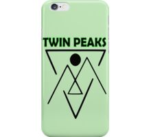 Twin Peaks- symbol iPhone Case/Skin