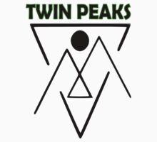 Twin Peaks- symbol One Piece - Short Sleeve