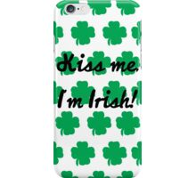 how about a lucky kiss? iPhone Case/Skin